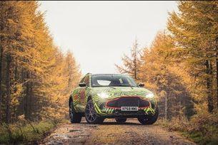 Тестове на първия кросоувър на Aston Martin