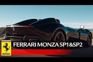 Ferrari показа какво могат Monza SP1 и SP2