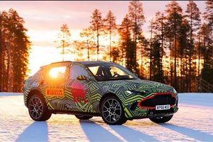 Кросоувърът Aston Martin DBX