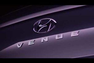 Hyundai Venue тийзър