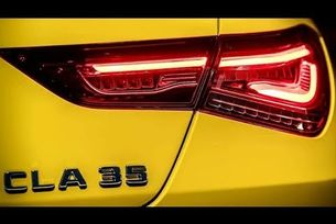 2020 Mercedes-AMG CLA 35 Coupé тийзър
