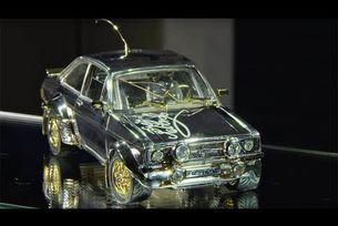 Ford Escort от злато, сребро и диаманти