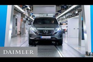 Начало на производството на Mercedes-Benz EQC