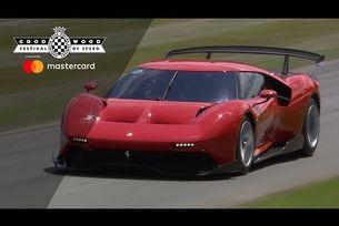 Шоуто Ferrari в Гудууд