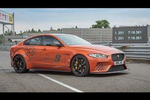 Нов рекорд на Jaguar XE SV Project 8