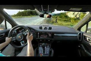 Рекорд на Porsche Cayenne Turbo S E-Hybrid