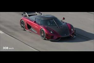 Световен рекорд на Koenigsegg Regera