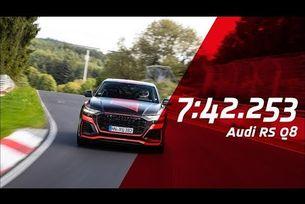 Audi RS Q8 постави рекорд на Северната дъга