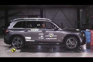 Euro NCAP краш тест Mercedes-Benz GLB 2019
