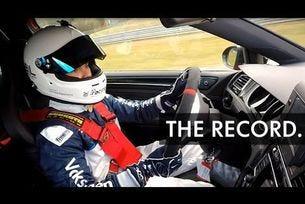 VW GTI Clubsport S с нов рекорд на сериен автомобил с предно предаване на Нюрбургринг