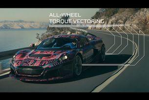 Тестове не прототипи на хиперавтомобила Rimac C_Two