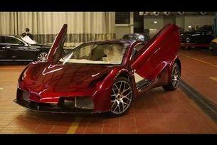 Vega EVX: Суперавтомобил от Шри Ланка