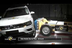 ЕuroNCAP краш тест Volkswagen Tiguan