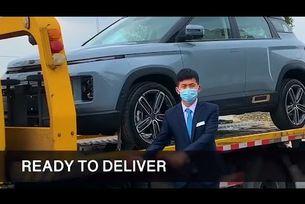 Geely доставя ключове за автомобили с дронове