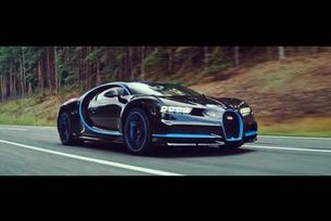 Bugatti Chiron 0-400-0 км/ч за 42 сек