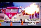Ретро Volkswagen получи реактивен двигател