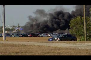 Огън унищожи над 3500 автомобила във Флорида