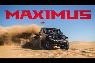 Показват Jeep Gladiator с 1000 к.с. в пустинята