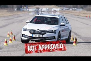Skoda Superb iV и VW Passat GTE се провалиха на тест