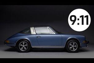 Историята на Porsche 911 Targa в 135 секунди