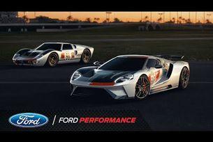 Представяне на Ford GT Heritage Edition