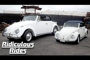 Гигантски  VW Beetle