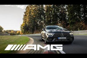 Mercedes-AMG GT 4-Door Coupé на Северната дъга на Нюрбургринг
