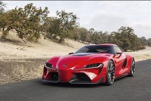 2017 Toyota Supra на пътни изпитания