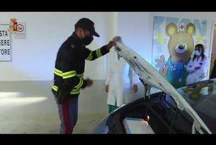 Полицейският Lamborghini Huracan като бърза помощ