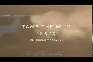 2021 Nissan Armada - тийзър
