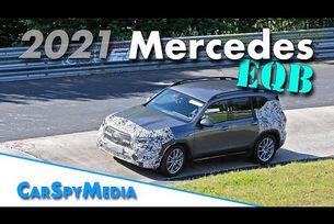 2021 Mercedes EQB full electric prototype