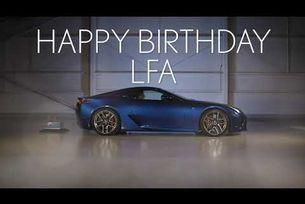 Happy 10th Birthday Lexus LFA