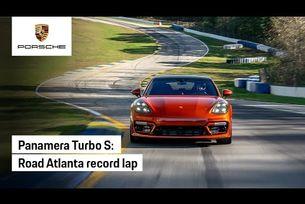 Рекорд на Porsche Panamera Turbo S