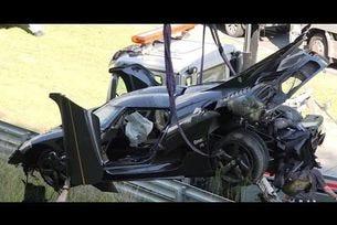 Тежък инцидент с Koenigsegg One: 1 на Нюрбургринг